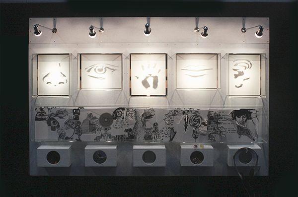 "® Nat Soontornvinate | ""Five"", 2009, shadow art installation"