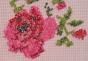 Workshops een roos of bloem borduren – Knit & Knot