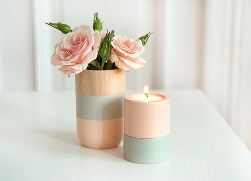 Imagem de flowers, rose, and candle