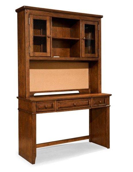Dawsons Ridge Country Heirloom Cherry Desk Hutch w/Chair