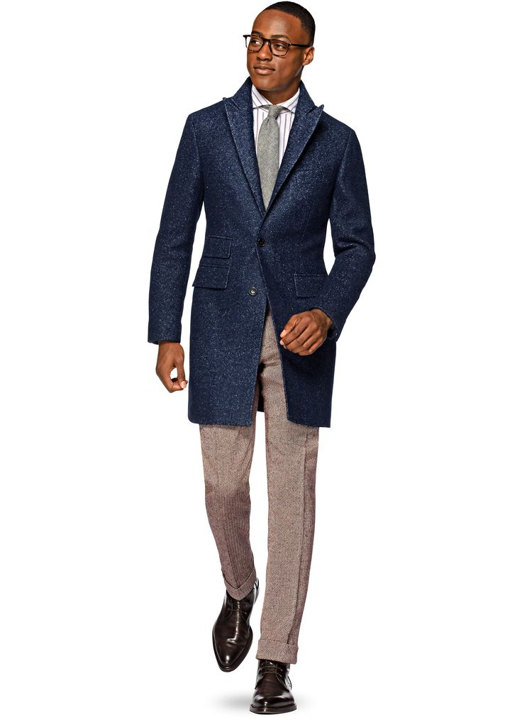 Blue Overcoat | Suit Supply