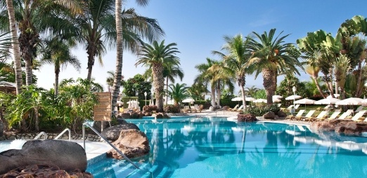Paradise all year round: Hotel Jardines de Nivaria, pool