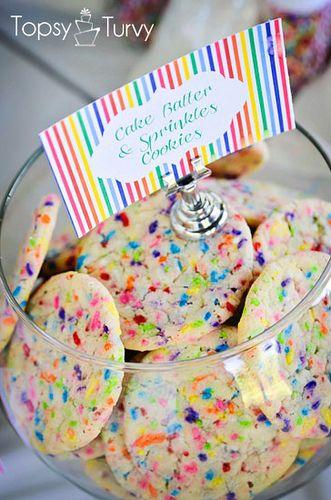 cake-batter-sprinkles-cookies-recipe by imtopsyturvy.com, via Flickr