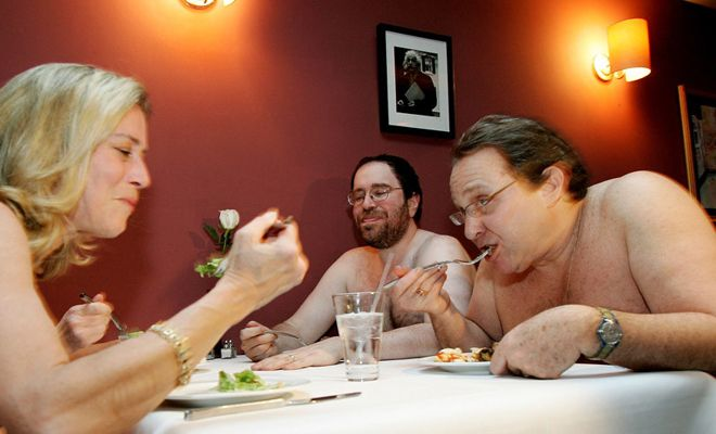 #TheBunyadi: #London's first #NakedRestaurant