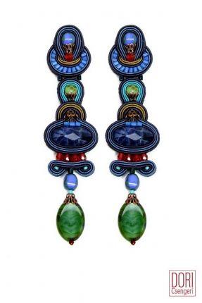 Mystique shoulder duster earrings by Dori Csengeri   #DoriCsengeri #longearrings…