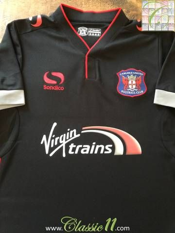 Official Sondico Carlisle United away football shirt from the 2015/16 season.
