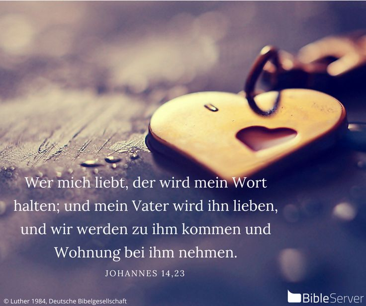 Nachzulesen auf BibleServer | Johannes 14,23