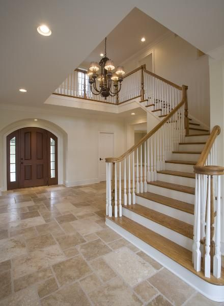 57 Best Images About Foyers And Stairs On Pinterest