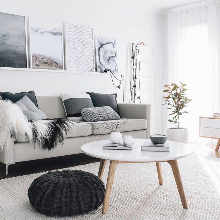 721 besten wohnzimmer skandinavisch bilder auf pinterest wohnideen wohnzimmer ideen und. Black Bedroom Furniture Sets. Home Design Ideas