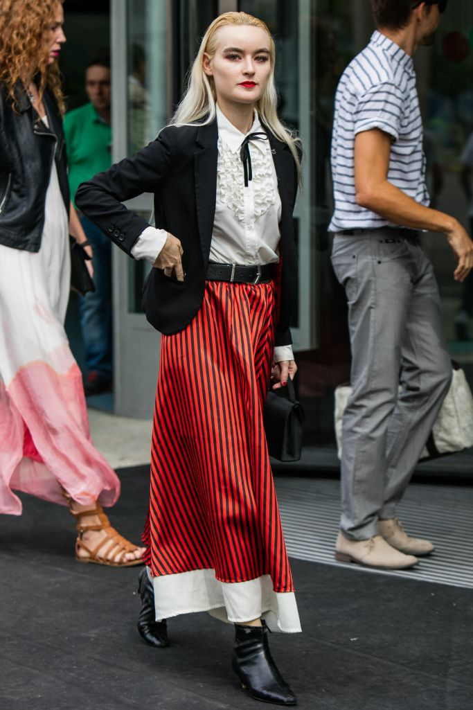 They Are Wearing Madrid Fashion Week Spring 2017 Madrid Street And Street Styles