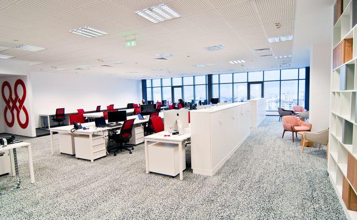 8x8 Cluj Napoca,  #openspace #office #interior #design