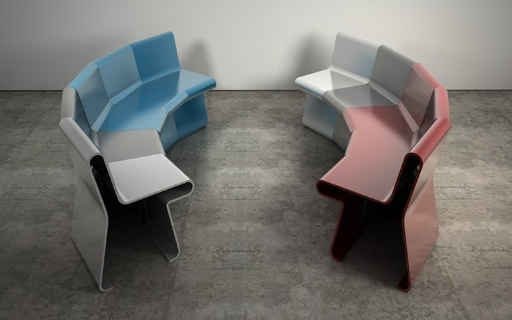 Incorporated, Endless Chair, Shell, 2011
