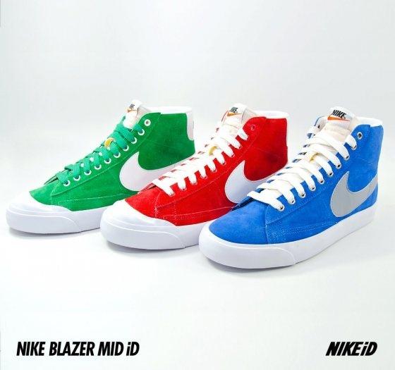 Blazer Mid w Nike iD (Kwiecień