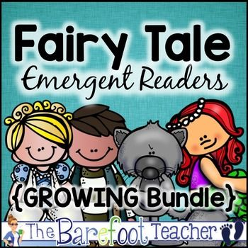 Fairy Tale Emergent Readers Bundle