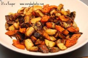 Roasted Provencal Vegetables