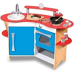 Melissa & Doug Cooks Corner Kitchen