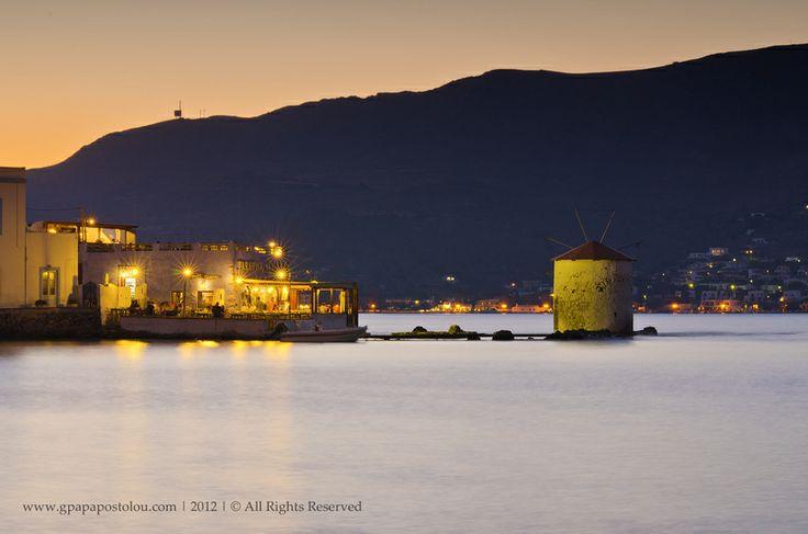 Sunset at Agia Marina, Leros island