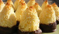 Chokladdoppade kokostoppar - Bighappy - Recept