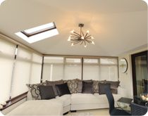 Equinox Tiled Roof - beautiful on the inside and outside http://www.eurocell.co.uk/homeowners/504/equinox-1