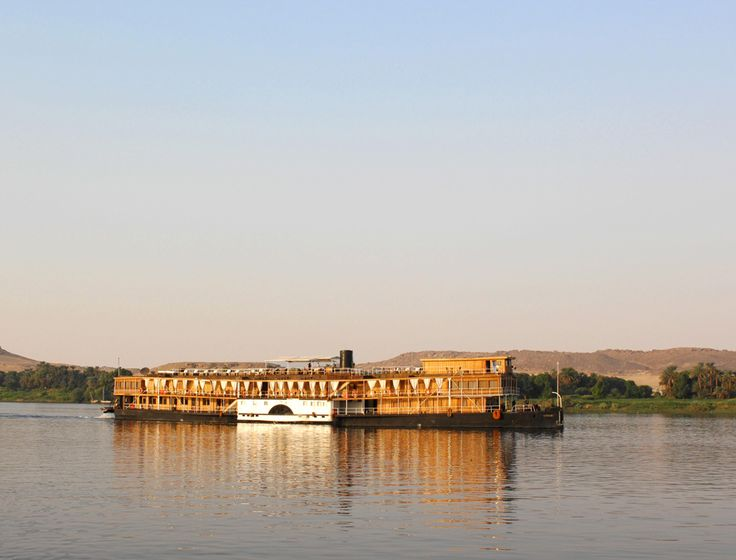 Croisiere sur le Nil en Egypte à bord du Steam Ship sudan