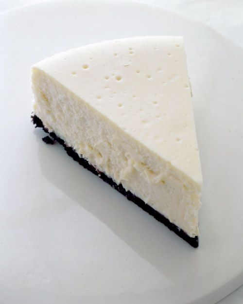 New York-Style Cheesecake - Martha Stewart Recipes: Health Desserts, Marthastewart, Desserts Recipes, York Styl Cheesecake, Cupcakes Recipes, Martha Stewart, Yorkstyl Cheesecake, New York Style, Cheesecake Recipes