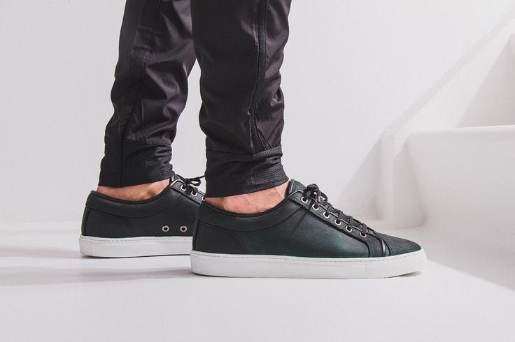ETQ Amsterdam Fall/Winter 2014 Rubberized Leather and Wool Sneakers. http://www.selectism.com/2014/08/13/etq-amsterdam-fw2014-sneakers/