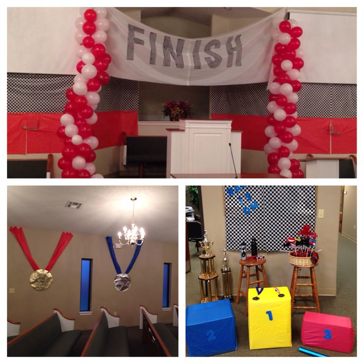 Vbs the race is on vbs pinterest vacation bible for Vacation bible school crafts for adults