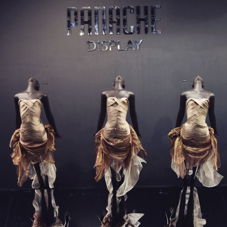 At the Show! We are launching our new Skye #mannequin @RtlDesignExpo stand E32 #display #design #fashion #vm #retail #RDE2015 www.panachedisplay.co.uk