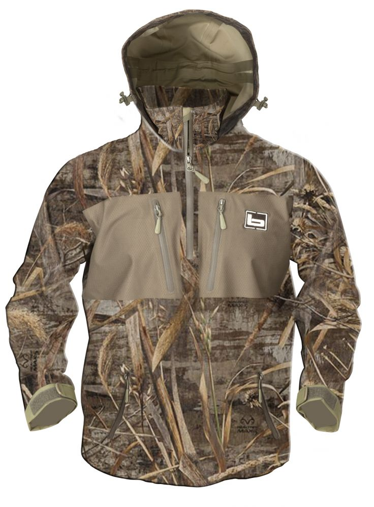 Realtree waterproof hooded quarter zip pullover by Banded