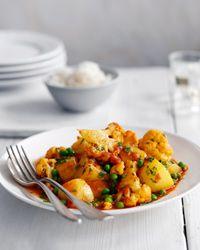 Cauliflower, Potato, and Pea Curry Recipe on Food & Wine