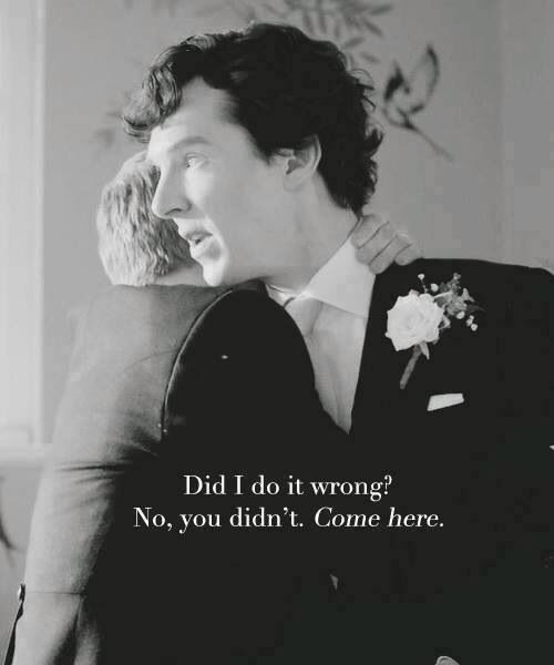 *spoilers* John & Sherlock <3