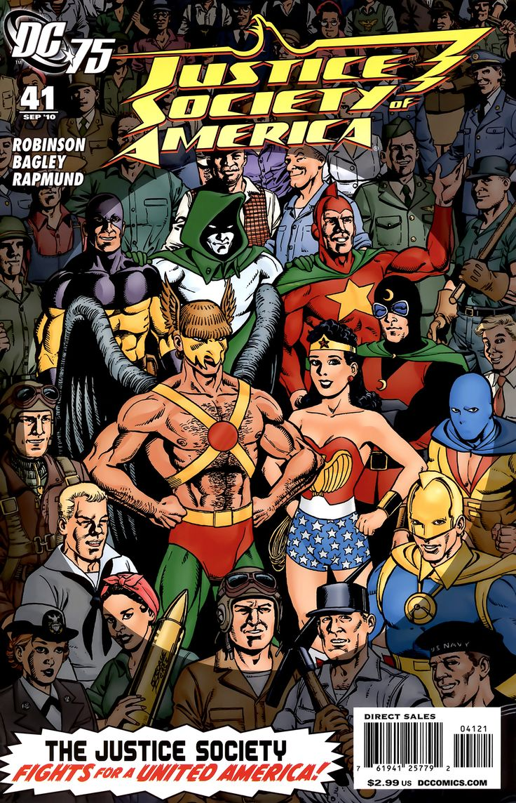 DC justice society of america | Justice Society of America Vol 3 41 - DC Comics Database