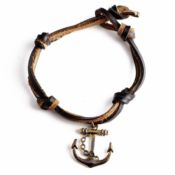 Golden Plated Anchor Bracelet