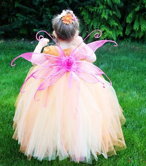 Юная волшебница: костюм феи для девочки своими руками