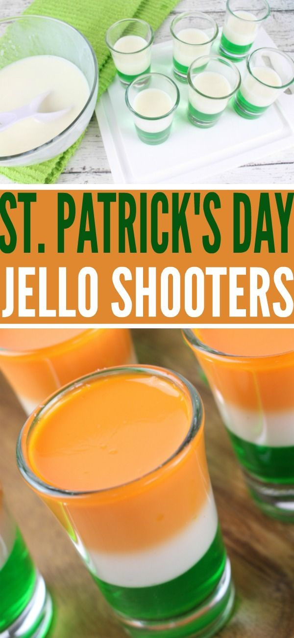These Irish jello shots are the perfect St. Patrick's Day jello shots! If you love green cocktails, you are going to love this recipe.
