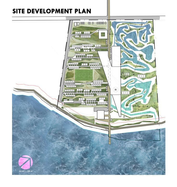 Davao City Institution for Coastal Preservation Site Development Plan | Architectural Thesis Output