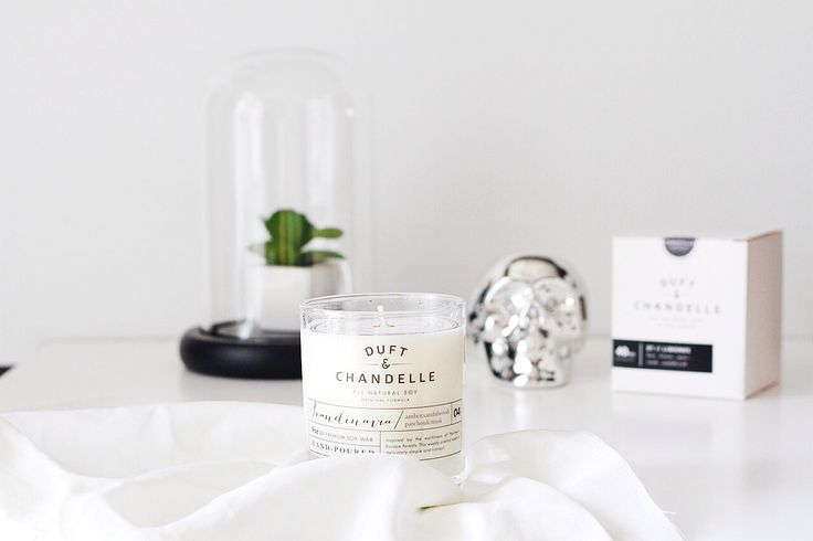 Duft and Chandelle Hand-poured scented soy candles based in Jakarta