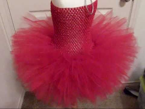 HOW TO: Make Tutus More Full and Fluffy by Just Add A Bow - YouTube