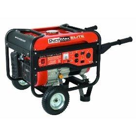 DuroMax Elite MX4500 4,500 Watt 7 HP OHV 4-Cycle Gas Powered Portable Generator With Wheel Kit : http://www.amazon.com/dp/B002SAUQW2/?tag=richbybmg-20