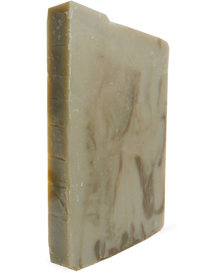 Patchouli Soap Slab This soap boasts deep and earthy tones while the combination of Patchouli and Mint is a unique combination for patchouli lovers. Earth Green Clay helps to remove dead skin cells and absorb impurities while Spinach Powder gives this bar an earthy yet fresh scent and colour. Patchouli Essential Oil...