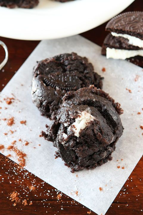 Chocolate Peanut Butter Nutella Oreo Cookies