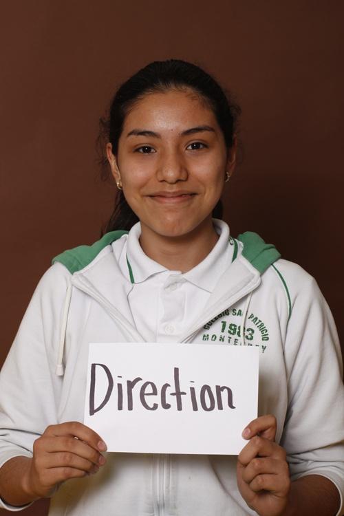 Direction,Ana SofiaAraujo,Colegio San Patricio,Estudiante,Monterrey,México.