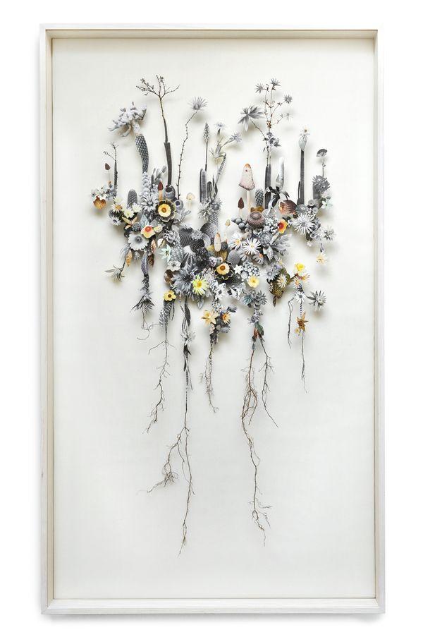 Anne ten Donkelaar: Idea, Inspiration, Flower Collage, Artist, Flowerconstructions, Flower Constructions, This Donkelaar, Anne Ten