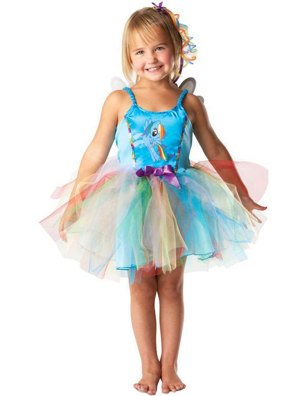 Child My Little Pony Rainbow Dash Costume