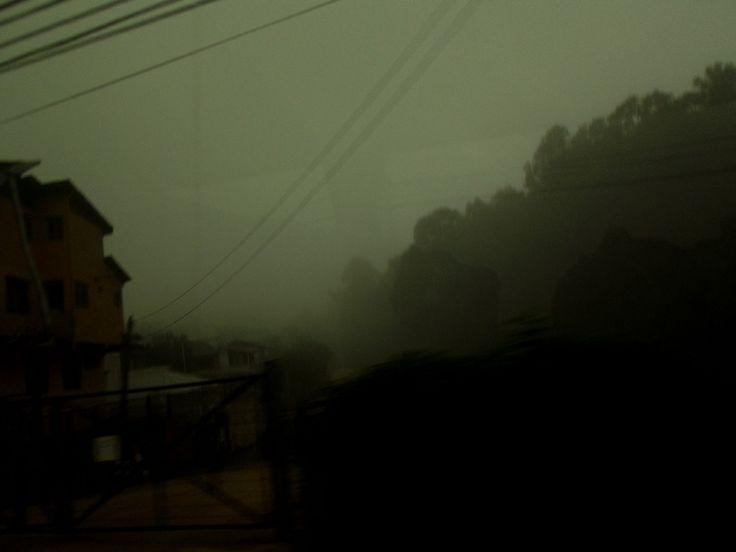 Bruma en Algarrobo. Región de Valparaíso. Chile.