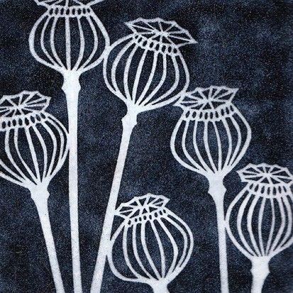 janine partington: poppy seedheads