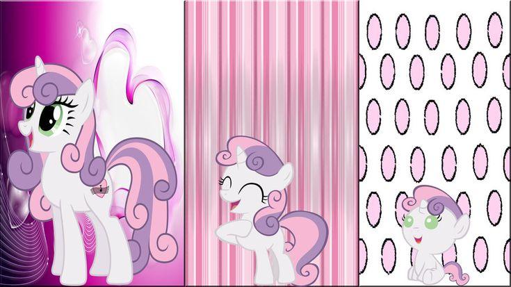 3 Sweetie Belle's by *Macgrubor on deviantART