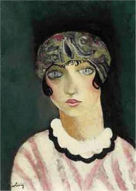 Kees van Dongen, Kiki de Montparnasse, 1925 on ArtStack #kees-van-dongen #art