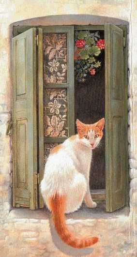Lesley Anne - Cat in the Window