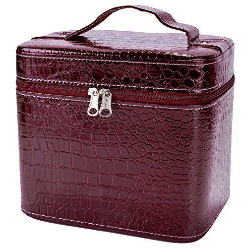 Jewelery Bag Box Leather Cosmetic Makeup Fashion Portable Travel Case Brand New #JeweleryBox